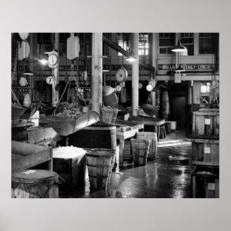 フルトンの魚市場: 1954年 ポスター