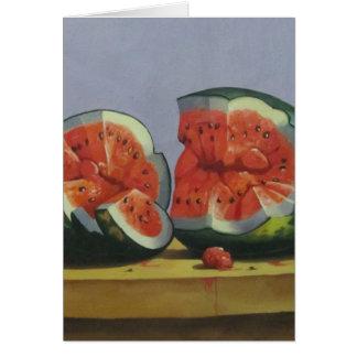 フルーツが付いているテーブル カード