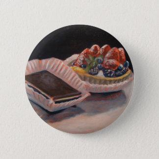 フルーツのおもしろい項目の鋭いファッジの絵画! 5.7CM 丸型バッジ