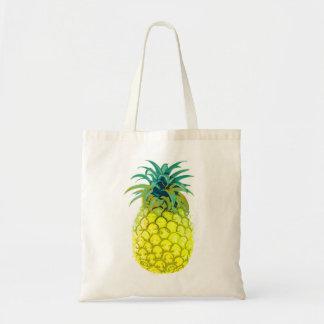 フルーツのようで黄色いパイナップルトート トートバッグ