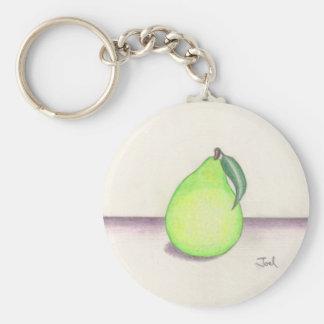 フルーツのようなナシのkeychain キーホルダー