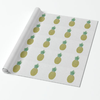 フルーツのようなパイナップル包装紙を感じること ラッピングペーパー