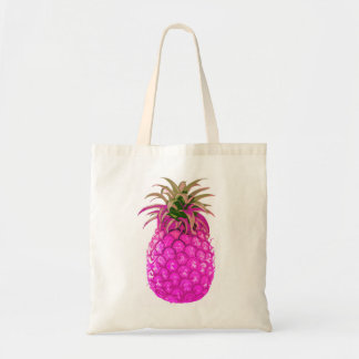 フルーツのようなピンクのパイナップルトート トートバッグ