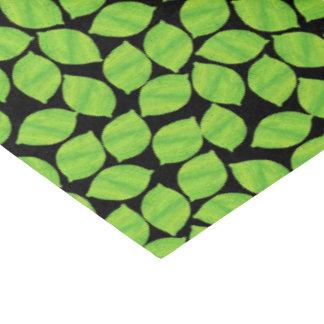 フルーツのような緑のライム、カスタマイズべき黒い背景 薄葉紙