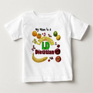 フルーツのようなLD -認可された栄養士 ベビーTシャツ
