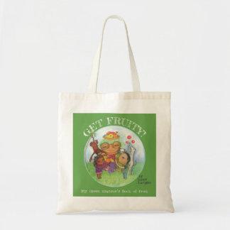 フルーツのようになって下さい! 自然なキャンバスのトートバック トートバッグ