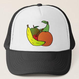 フルーツのデザイン キャップ