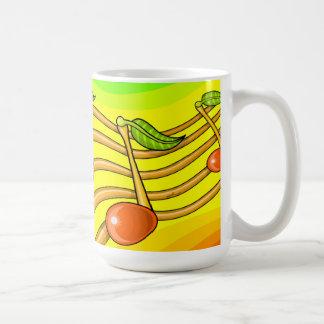 フルーツのノート コーヒーマグカップ
