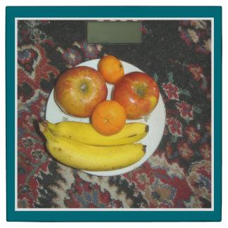 フルーツのプレート 体重計