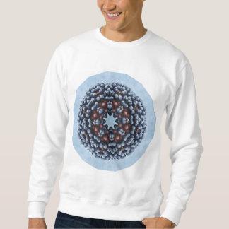 フルーツのボヘミアの目まぐるしく幾何学的な曼荼羅 スウェットシャツ