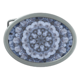 フルーツのボヘミアの目まぐるしく幾何学的な曼荼羅 卵形バックル