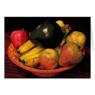 フルーツのボール カード
