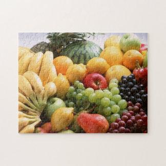 フルーツのメドレーの写真のパズル ジグソーパズル