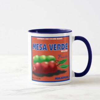 フルーツのラベルのマグ マグカップ