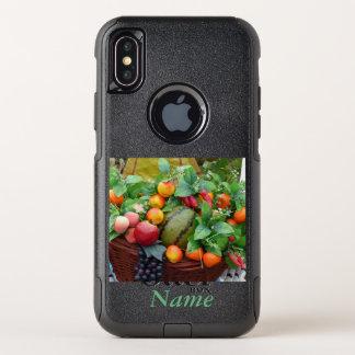 フルーツの収穫のカスタムな電話箱 オッターボックスコミューターiPhone X ケース