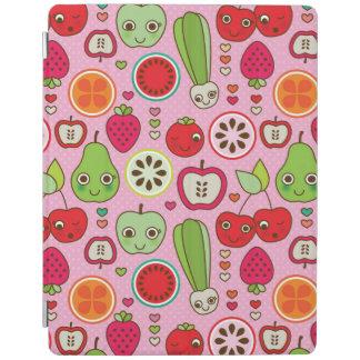 フルーツの台所イラストレーションパターン iPadスマートカバー