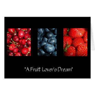 フルーツの恋人の夢カード カード
