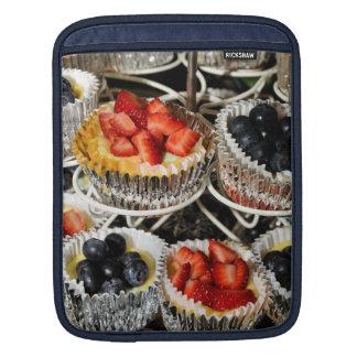 フルーツの果実のタルトのipadの袖 iPadスリーブ