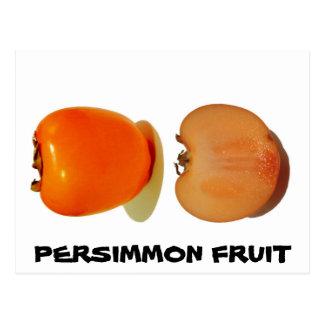 フルーツの柿 ポストカード
