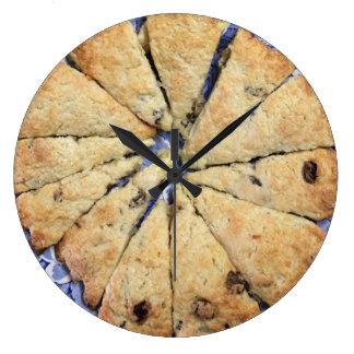 フルーツのSconeの台所柱時計 ラージ壁時計