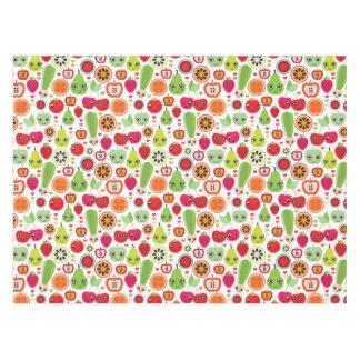 フルーツは絵のりんごをからかいます テーブルクロス