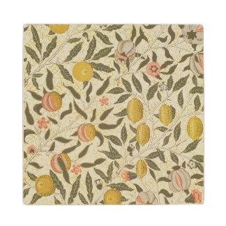 フルーツまたはザクロの壁紙のデザイン ウッドコースター
