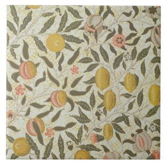 フルーツまたはザクロの壁紙のデザイン タイル