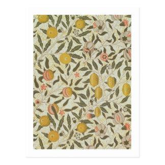 フルーツまたはザクロの壁紙のデザイン ポストカード