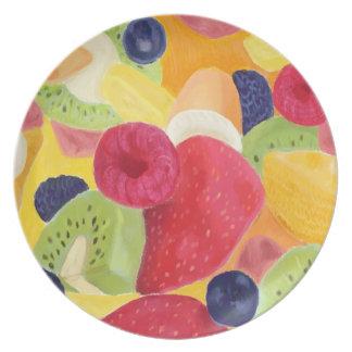 フルーツサラダのプレート プレート