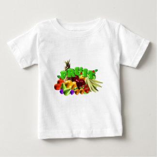 フルーツサラダ ベビーTシャツ