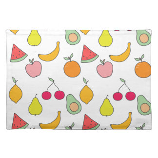 フルーツパターン ランチョンマット