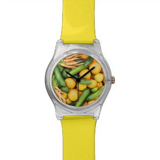 フルーツ及び野菜の腕時計 腕時計