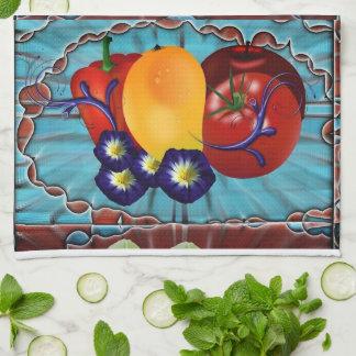 フルーツ野菜 キッチンタオル