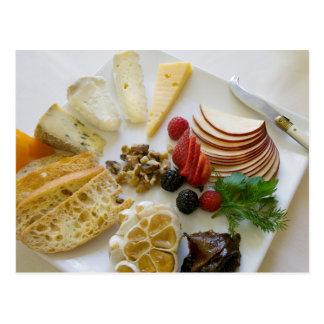フルーツ、ナットおよびチーズ ポストカード