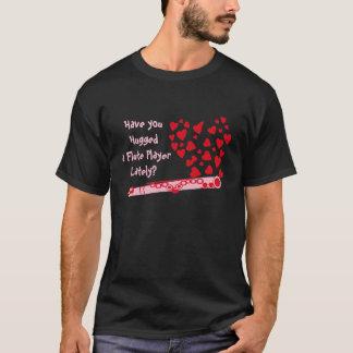 フルートのハート Tシャツ
