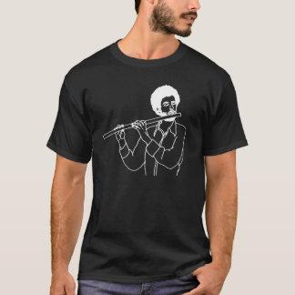 フルートのヒップスター Tシャツ