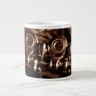 フルートの写真 ジャンボコーヒーマグカップ