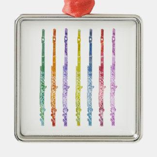 フルートの虹 メタルオーナメント