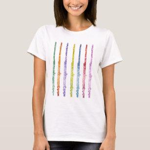 フルートの虹 Tシャツ