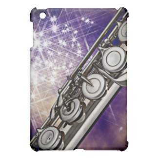 フルートまたはフルート奏者のミュージシャンのIpadの例 iPad Miniケース
