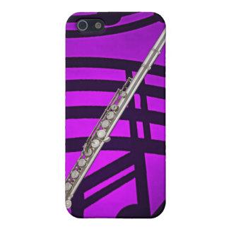 フルートまたはフルート奏者のミュージシャンのIphoneの例 iPhone 5 カバー
