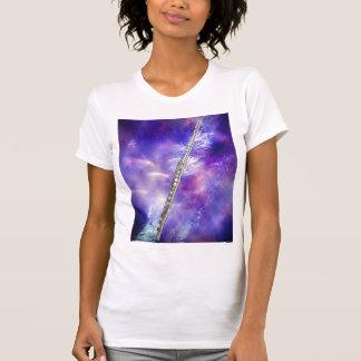 フルートまたはフルート奏者のミュージシャンのTシャツ Tシャツ