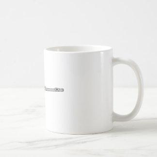 フルート コーヒーマグカップ
