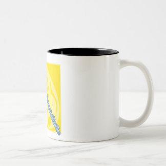 フルート ツートーンマグカップ