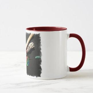 フルート、平和および賢人 マグカップ
