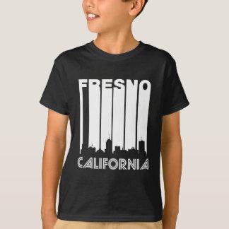フレズノのレトロのスカイライン Tシャツ
