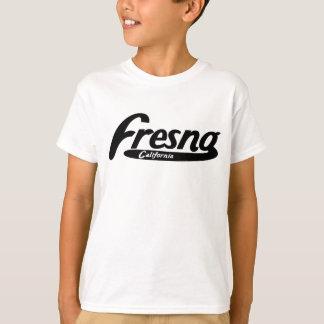 フレズノカリフォルニアのヴィンテージのロゴ Tシャツ