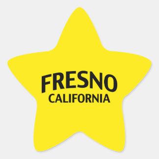 フレズノカリフォルニア 星シール