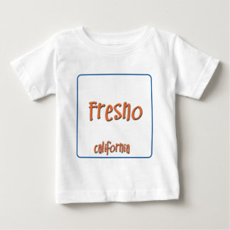 フレズノカリフォルニアBlueBox ベビーTシャツ