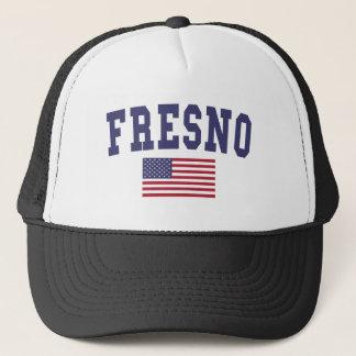 フレズノ米国の旗 キャップ